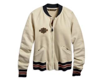Embroidered Vintage Activewear Jacke