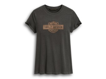 T-Shirt Metallic Logo Graphic