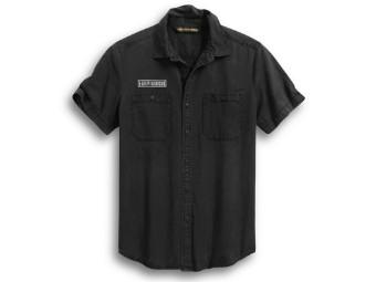 V-Twin Slim Fit Hemd