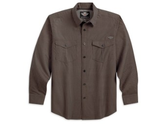 Wrinkle Resistant Woven Hemd