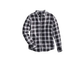 Grey & Black Plaid Hemd