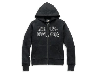 Hoodie Font Embroidered