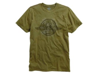 Harley-Davidson® Winged Skull Short Sleeve T-Shirt