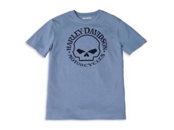 T-Shirt Willie G Skull Graphic