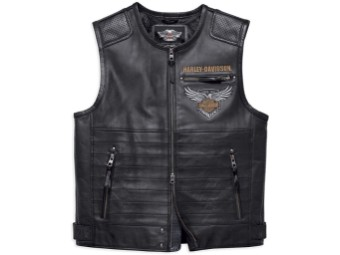 115th Limited Edition Leather Vest