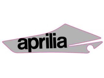 """Dekor Luftleitblech """"aprilia"""" links silber SX 125"""