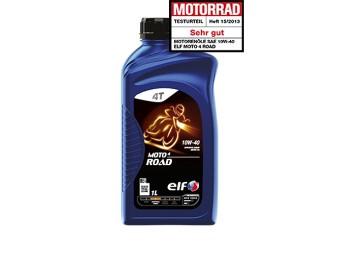10W-40 Elf Moto 4 Road 1 L Flasche 4-Takt Motorenöl