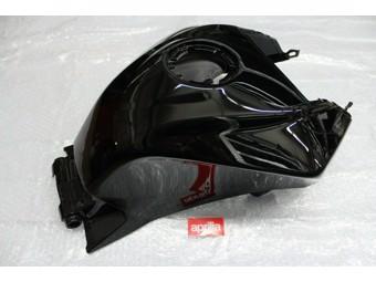 Tankverkleidung schwarz glanz RS4