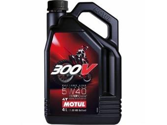 300v offroad 5w40
