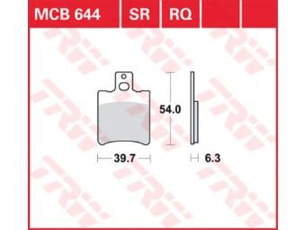 Bremsbeläge MCB644