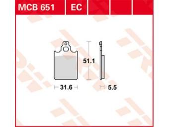 Bremsbeläge MCB651