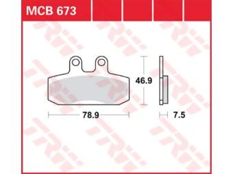 Bremsbeläge MCB673