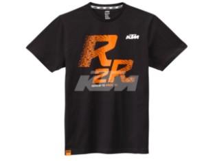 R2R T-SHIRT SCHWARZ