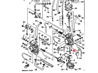 Leerlaufdüse original Yamaha 1NT-14142-15-00
