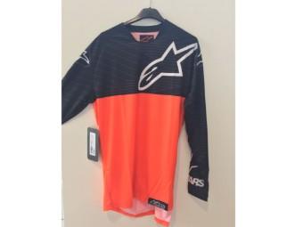 Venture Jersey orange schwarz