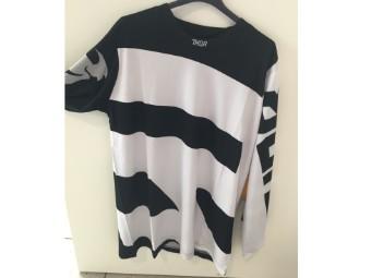 Pulse S18 Jersey schwarz weiß