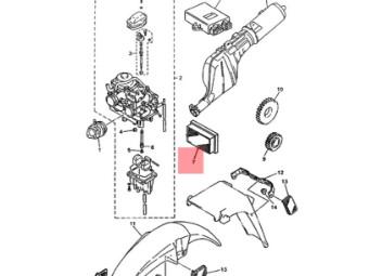 Luftfilter original Yamaha