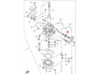 Vergaser Membrane Original Yamaha 5Y1-1490A-00-00