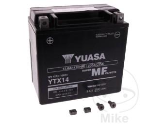 Wartungsfreie Motorrad-Batterie