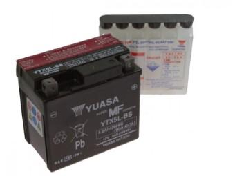YUASA Batterie YTX5L-BS Nur Abholung mit Altbatterien Abgabe