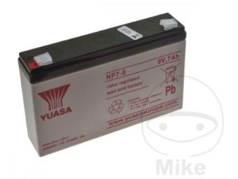 Gerätebatterie NP 7-6 Yuasa