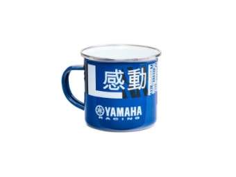 Racing Emaille-Tasse