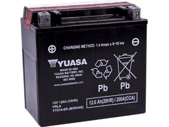 Batterie YTX14-BS Nur Abholung mit Altbatterie Abgabe