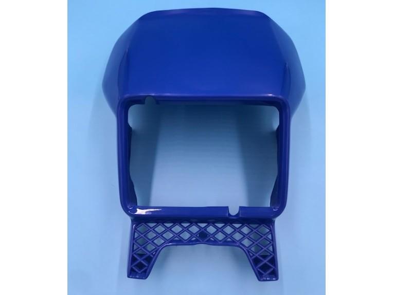 1vj lampenmaske blau
