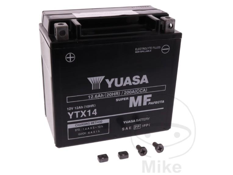 7070170 Batterie YUASA YTX14