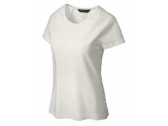 Damen T-Shirt Vertical Graphic Cap Sleeve
