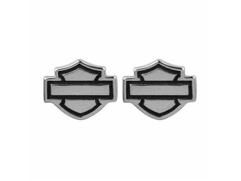 Ohrringe B&S Logo Post