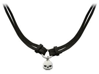 Kette Double Strand Skull