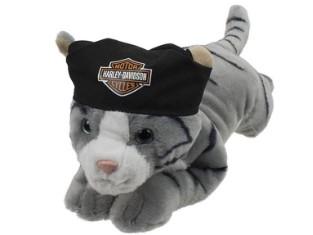 Katze steel Stofftier