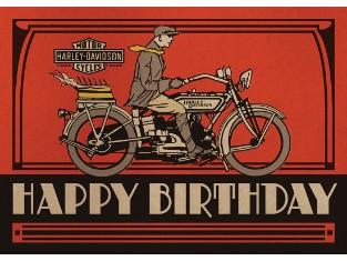 Geburtstagsgrußkarte 'Birthday Cake'