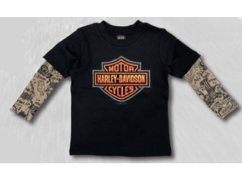 Jungen T-Shirt mit Tattooärmeln