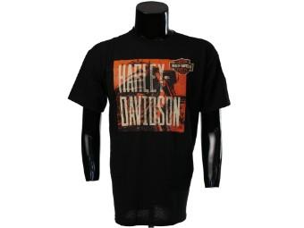 Düsseldorf Shop Shirt 'Harley-Davidson'