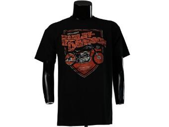 Düsseldorf Shop Shirt 'Harley-Davidson Motorcycles'