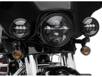 Kit-Aux Lamp,LED,4 Inch,black