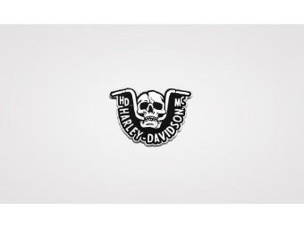 Pin 'Handlebar Skull'