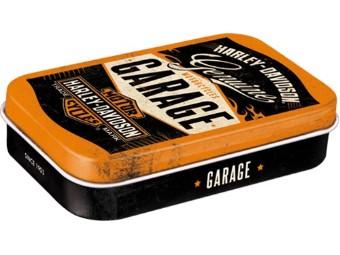 Nostalgische Minzpastillendose XL 'Garage'