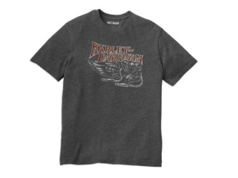 Herren T-Shirt 'Retro Graphic'