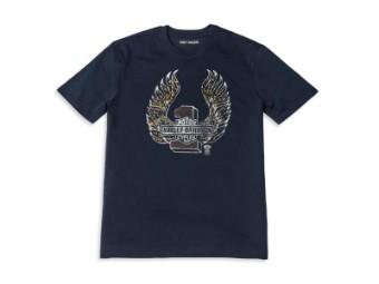 Herren T-Shirt 'Winged #1 Graphic'