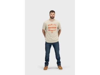 Herren T-Shirt 'Racer Font Motorcycle Co.'