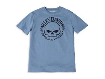Herren T-Shirt 'Willie G Skull Graphic'