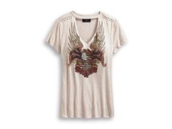 T-Shirt Eagle & Roses