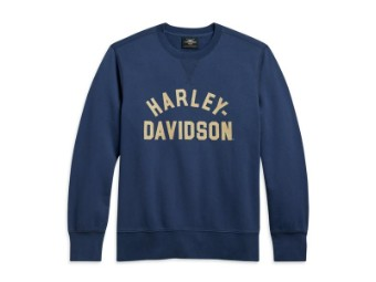 "Pullover ""Stack Logo Blue"""