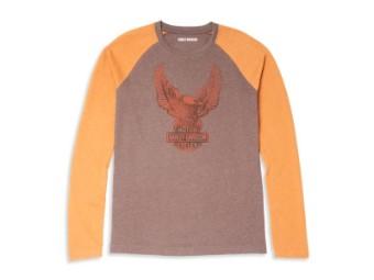 Herren Long Sleeve 'Eagle Graphic Raglan Sleeve Graphic'