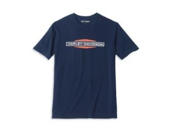 Herren T-Shirt 'Stacked Logo Graphic'