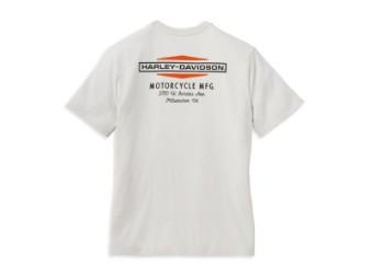 Herren T-Shirt 'Stacked Graphic Double Logo Graphic'