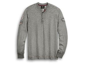 Shirt Langarm HD 03 Henley